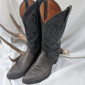 Lucchese Armadillo Made in Mexico Cowboy Boots